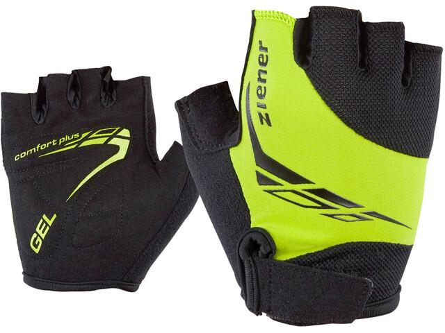 Ziener Canizo Bike Gloves Kids, lime green
